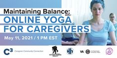 Online Yoga, Military Spouse, Caregiver, Self Care, Connection, Join, Thankful, Mindfulness, Explore