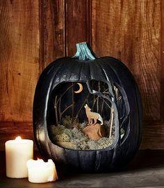 25 Ideas para decorar una calabaza de Halloween                              …
