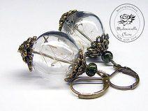 Ohrringe - Zauberhafte Pusteblume - Bronze