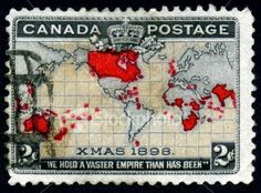 Canadian Christmas Stamp vintage 1898...