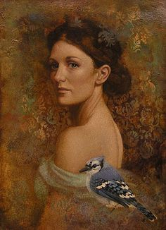 Blue Jay and the Governor's Daughter, James Christensen