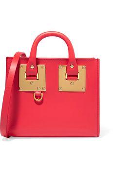 Sophie Hulme | Albion Box mini leather shoulder bag | NET-A-PORTER.COM