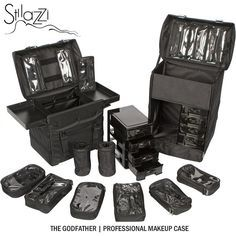 LOVES IT.... The Godfather, professional makeup case, by Stilazzi.