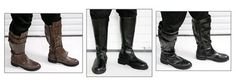 STAR WARS COSTUMES: - Hard to Find Jedi Boots