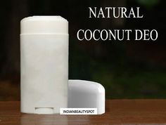 DIY Natural coconut deo to reduce dark underams and prevent odor - ♥ IndianBeautySpot.Com ♥