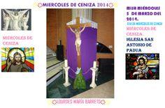 MIERCOLES DE CENIZA 5 DE MARZO DEL 2014.  PARTE 2. ME IMPUSIERON LAS CENIZAS MUY HERMOSA LA MISA Y SOLEMNE.+♠LOURDES MARIA BARRETO+♠