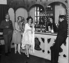 With Baz Luhrmann's version of The Great Gatsby lighting up cinema   screens and speakeasy-style bars popping up all over London, it seems   Britain has caught 1920s fever. Our picture gallery looks back at the era of   jazz, flappers and dancing 'til you dropped.