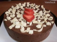 Mrazená čokoládová torta (fotorecept)