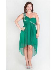 piniful.com plus size one shoulder dress (20) #plussizefashion