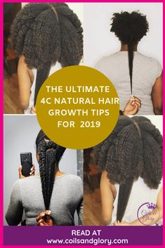 10 Effective Natural Hair Growth Products To Speed Up Growth, Regrow Your Edges and Stop Breakage | Coils & Glory