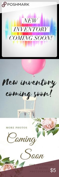 Alert!!!! New inventory coming soon! Take advantage now ... Anything bought this week will have a buy 1 get 1 free clause to make room for new items. So shop away and have a blessed week. Accessories