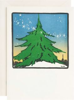 Spirit of the Season Letterpress Holiday Cards