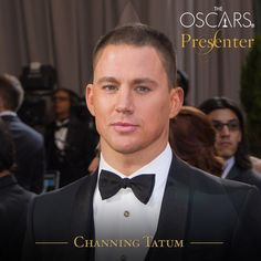 Channing Tatum Presenting at the 86th Academy Awards - Channing Tatum Unwrapped