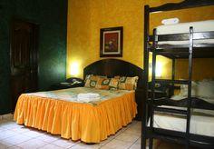 Una de nuestras habitaciones, ven y visítanos en el mejor hotel de playa en el salvador!