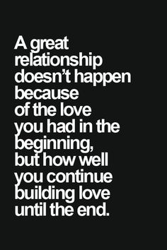 A #Healthy #Relationship Doesn't Always Feel RIGHT, But That Does Not Mean It Isn't                                                                                                                                                                                 More