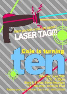 Laser Tag Party Laser Tag Birthday, Laser Tag Party, Thomas Birthday, Boy Birthday, Birthday Cakes, Birthday Ideas, Glow Party, Party Party, Intense Games