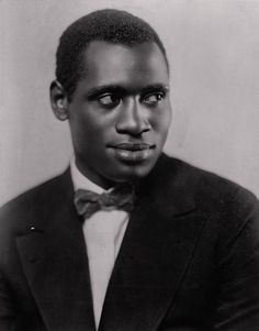 Paul Robeson, 1926.