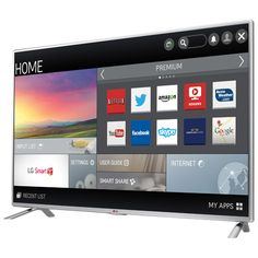 """LG 47"""" 1080p 120Hz LED Smart TV (47LB6100) : 46 - 52 inch TVs - Best Buy Canada $699.99 Lg Electronics, User Guide, Smart Tv, Cool Things To Buy, Internet, App, Phone, Canada, Cool Stuff To Buy"""