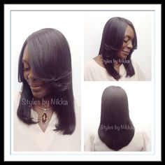 Full Head Lace Closure Sew In Weave No Hair Left Out No