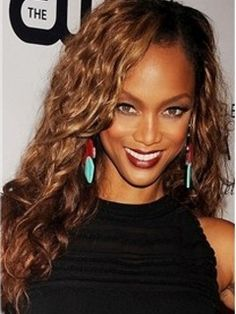 Tailored Tyra Banks Amazing Hairstyles Long Wavy Lace Wig 100% Real Human Hair About 20 Inches Item # W6365 Original Price: $823.00 Latest Price: $252.09