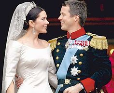 Crown Prince Frederik marries Mary Donaldson from Tasmania (Australia) May Crown Princess Mary, Prince And Princess, Alexandra Manley, Mary Donaldson, Prince Frederick, Royal Dresses, Danish Royal Family, Danish Royals, Royal Weddings