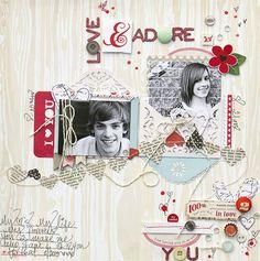 Love & Adore *Noel Mignon* - Scrapbook.com