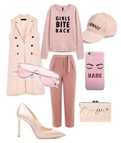 """Без названия #9"" by lidiya-yurtaeva on Polyvore featuring мода, Amici Accessories, Topshop, Jimmy Choo и BCBGMAXAZRIA"