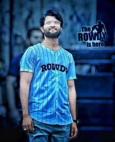 Rowdy is here kaskondi 😘😘😘 Famous Indian Actors, Indian Celebrities, Keerti Suresh, Telugu Hero, Allu Arjun Wallpapers, Allu Arjun Images, South Hero, Dj Remix Songs, Joker Comic
