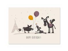 Und wieder ist ein Jahr vorüber: Ein Geburtstag steht an und neben Kuchen und Geschenken darf eine reizende Glückwunschkarte nicht fehlen. Die Klappkarte 'Happy Birthday' zaubert jedem...