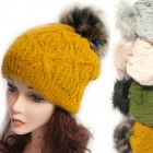 Wintermütze Mit Fleece, Pelzbommel 5044 Knitted Hats, Winter Hats, Knitting, Fashion, Fur, Moda, Tricot, Fashion Styles, Breien