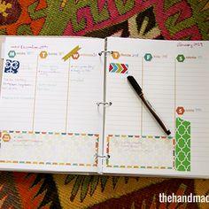 Free 2013 Planner - With Homeschool or School Bonus