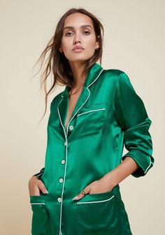 7654d77458 Luxury Silk Pyjamas And Nightwear