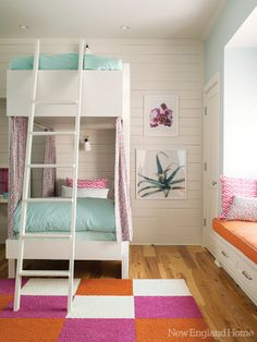 mommo design: Bunk ideas for girls//also in board kids 2.:)..