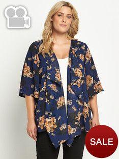 So Fabulous Waterfall Kimono Jacket