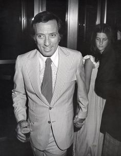 Andy Williams with daughter Noelle.