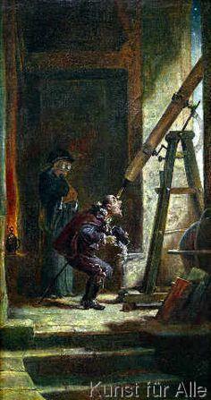 Carl Spitzweg - Der Astrologe