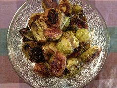 Candied Brussels Sprouts!! Who thought Brussels sprouts could taste so good???!!!