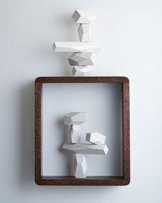 In love with these wooden balancing blocks that are cool for kids, but pretty enough to be on display in the living room