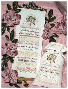 Teddy/'s Tea Party Cat and Pink Rose July 1990 Flowers For the Love of Cross Stitch Magazine 21 Projects