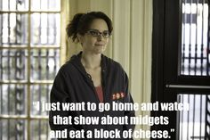 Life Lessons from Liz Lemon: this sounds like a great Friday night. Although maybe Breaking Bad instead of midgets.