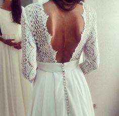 Si es para enseñar algo así, puedes dar la espalda. Wedding Planner Madrid