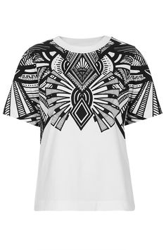 **Art Deco Work Out T-shirt by Ilustrated People - New In This Week - New In - Topshop