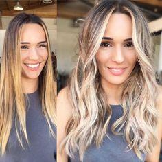 Beauty Stuff, Hair Beauty, Highlight Hair, Hair Shades, Hair Color And Cut, Hair Affair, Hair Coloring, Hair Tutorials, Blonde Balayage