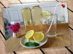 #hrncekove #recepty #citron #sirup Alcoholic Drinks, Wine, Glass, Food, Syrup, Alcoholic Beverages, Meal, Drinkware, Essen