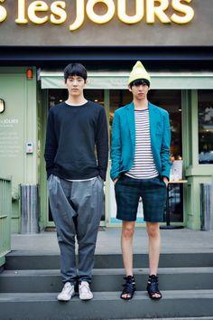Stylish off duty looks for men Tokyo Fashion, Fashion Week, Look Fashion, Mens Fashion, Fashion Outfits, Fashion Bloggers, Male Outfits, Korean Men, Asian Men