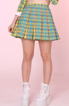 As If Pleated Skirt