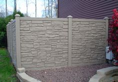 10 Ridiculous Tricks Can Change Your Life: Gabion Fence Glass black fence. Brick Fence, Concrete Fence, Front Yard Fence, Diy Fence, Cedar Fence, Fence Landscaping, Backyard Fences, Fence Gate, Fence Ideas