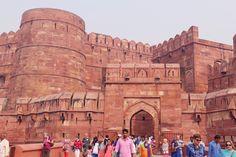 in locum mundo — Red Fort, Agra (India)
