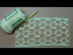 DIY CROCHET PONTO FANTASIA DE 2 CARREIRAS HD - YouTube Crochet Diy, Crochet Chart, Thread Crochet, Learn To Crochet, Crochet Stitches, Baby Quilt Patterns, Crochet Patterns, Crochet Crocodile Stitch, Crochet Instructions