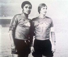 "Eusébio e Cruyff, de novo ""juntos""..."